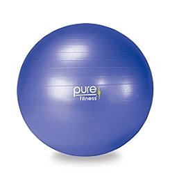 Pure Fitness® 65-cm Exercise Ball with Pump