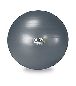 Pure Fitness® 75-cm Exercise Ball with Pump