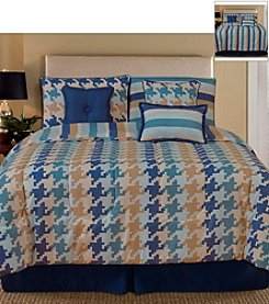 Pixel 7-pc. Comforter Set by Palmetto Printworks