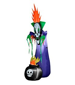 Halloween Airblown® Inflatable Haunting Reaper with Cauldron