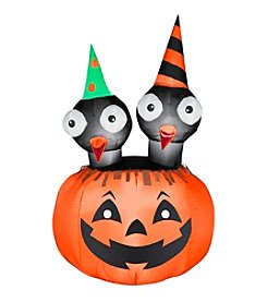 Halloween Airblown® Inflatable Crows Nest Jac-O-Lantern Scene