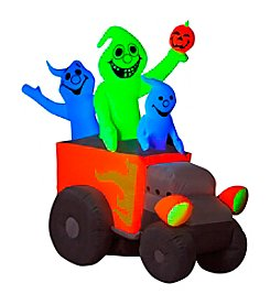 Halloween Airblown® Inflatable Neon Hot Rod Ghosts
