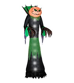 Gemmy Halloween Airblown® Inflatable Pumpkin Head Reaper