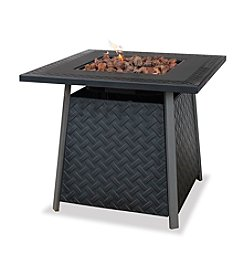 UniFlame® LP Gas Outdoor Firebowl with Steel Mantel