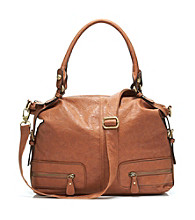 GAL Veg Tan Dome Satchel