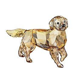 Swarovski® Mother Golden Retriever