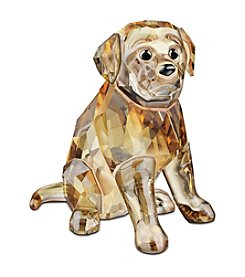 Swarovski® Sitting Golden Retriever