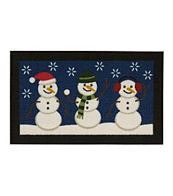 Essential Elements® Let it Snow Snowmen Rug