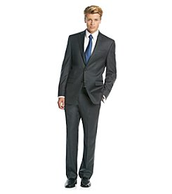 Lauren Ralph Lauren® Men's Big & Tall Charcoal Solid Suit Separates