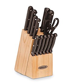Farberware® 15-pc. Triple Rivet Cutlery Set