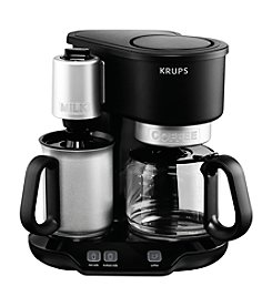 Krups® Latteccino 8-cup Coffee and Latte Maker