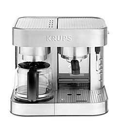 Krups® Stainless Steel Combi Coffee & Espresso Maker