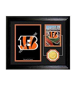 NFL® Cincinnati Bengals Framed Memories Desktop Photo