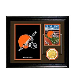 NFL® Cleveland Browns Framed Memories Desktop Photo