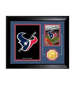 Houston Texans Framed Memories Desktop Photo Mint