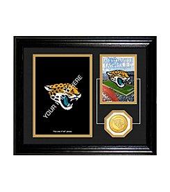 Jacksonville Jaguars Framed Memories Desktop Photo Mint by Highland Mint