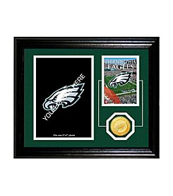 Philadelphia Eagles Framed  Memories Desktop Photo Mint by Highland Mint