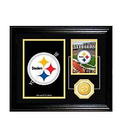 Pittsburgh Steelers Framed Memories Desktop Photo Mint by Highland Mint