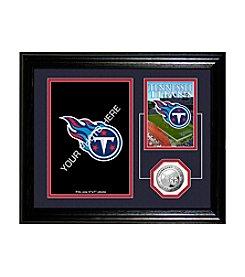 Tennessee Titans Framed Memories Desktop Photo Mint by Highland Mint