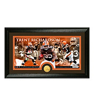 Trent Richardson Bronze Coin Panoramic Photo Mint by Highland Mint