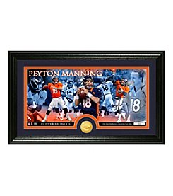 Peyton Manning Bronze Coin Panoramic Photo Mint by Highland Mint