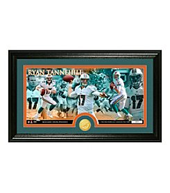 Ryan Tannehill Bronze Coin Panoramic Photo Mint by Highland Mint