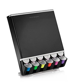 Mind Reader 42-Cup Black Nespresso Capsule Dispenser