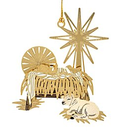 ChemArt Timeless Manger Ornament