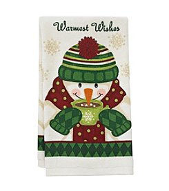 Ritz™ Warmest Wishes Snowman Kitchen Towel