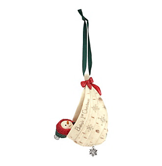 Pavilion Gift Company® The BirchHearts Baby's First Christmas Ornament