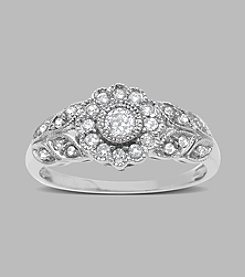 0.33 ct. t.w. Diamond Ring in 10K White Gold