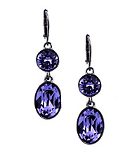 Givenchy® Blue Drop Earrings