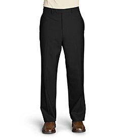 Lauren Ralph Lauren Men's Big & Tall Wool Flat Front Dress Pant