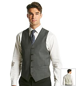 Lauren Ralph Lauren Men's Grey Shark Classic Fit Wool Vest