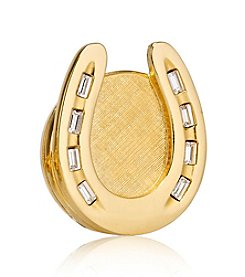 Estee Lauder Beautiful Golden Horseshoe Solid Perfume Compact
