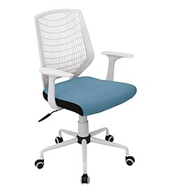 Lumisource® White Network Office Chair