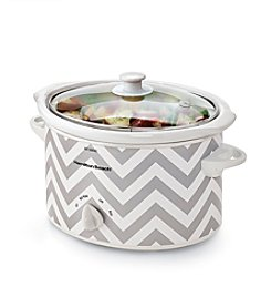 Hamilton Beach® Chevron 3-qt. Oval Slow Cooker