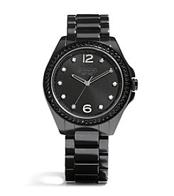 COACH BLACK TRISTEN BRACELET WATCH