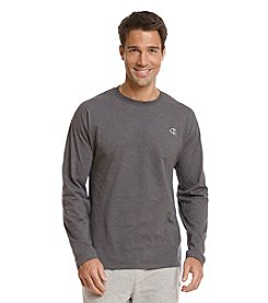 Champion® Men's Long Sleeve Jersey Knit Tee