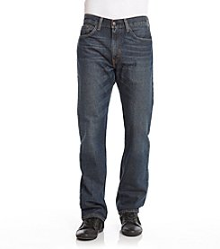 Levi's® Men's Range Blue 505™ Regular Fit 5-Pocket Jean