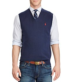 Polo Ralph Lauren® Men's Jersey Knit V-Neck Sweater Vest