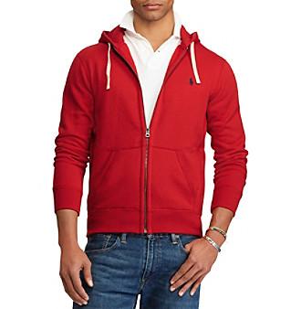 Polo Ralph Lauren® Men's Full-Zip Fleece Hoodie plus size,  plus size fashion plus size appare