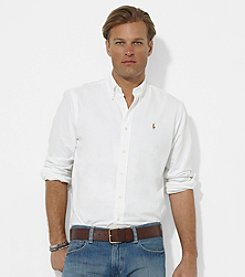 Polo Ralph Lauren® Men's Long Sleeve Classic-Fit Oxford Button-Down Sport Shirt