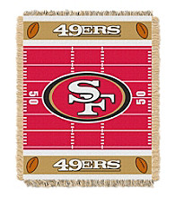 San Francisco 49ers Baby Jacquard Field Throw