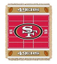 San Francisco 49ers Baby Jacquard Field Throw