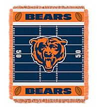 Chicago Bears Baby Jacquard Field Throw
