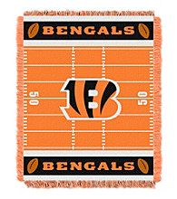 Cincinnati Bengals Baby Jacquard Field Throw