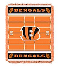 Cincinnati Bengals Baby Jacquard Field Throw