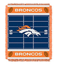 Denver Broncos Baby Jacquard Field Throw
