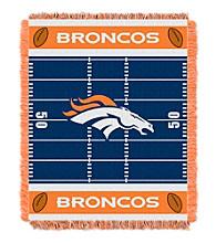 Denver Broncos Baby Jacquard Field Throw